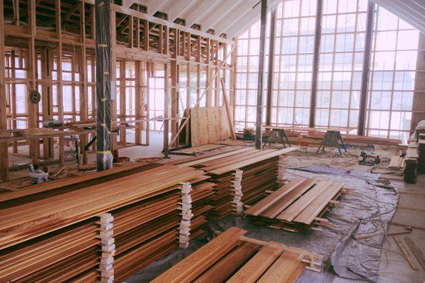Whangamata Design & Build – Framing Stage