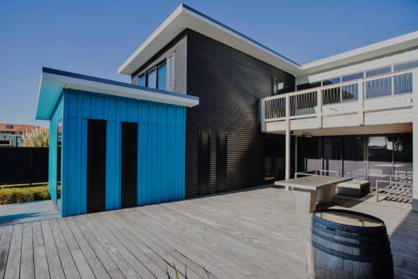 House – Ocean Road side